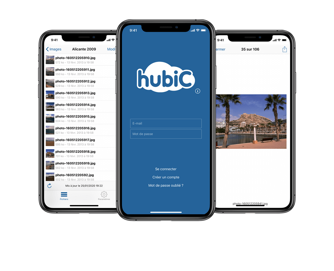 hubiC native iOS mobile application, OVHCloud